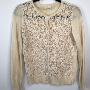 Anthropologie Pins And Needles Sweater Cardigan S